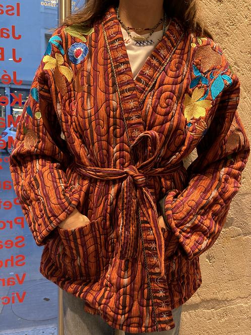 Kimono Flower Power Orange / Monoki