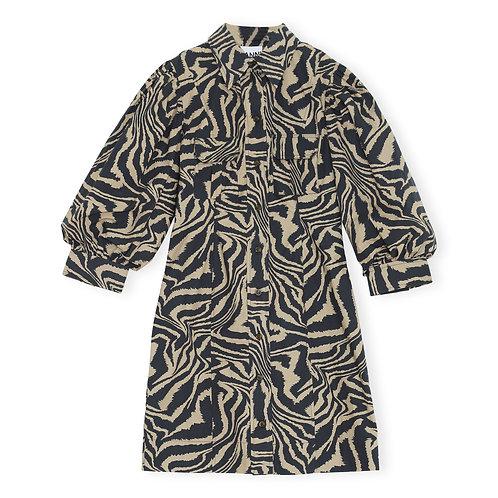 Robe à rayures / Ganni