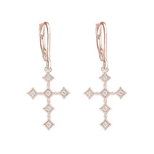 BO ''Divine'' or rose et diamants