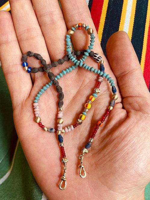Chaine Africa Beads 40cm