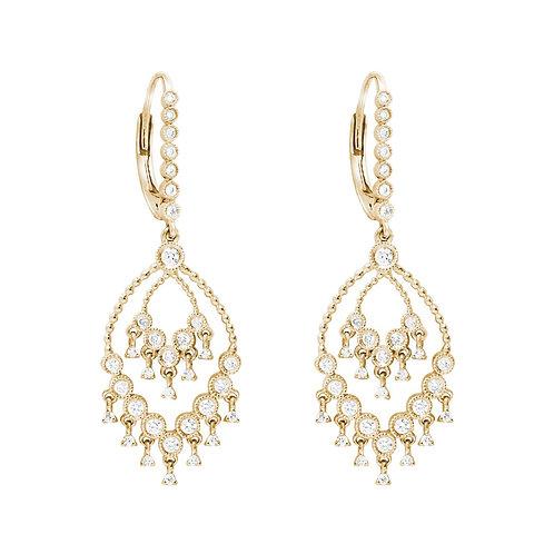 BO Talitha or jaune et diamants