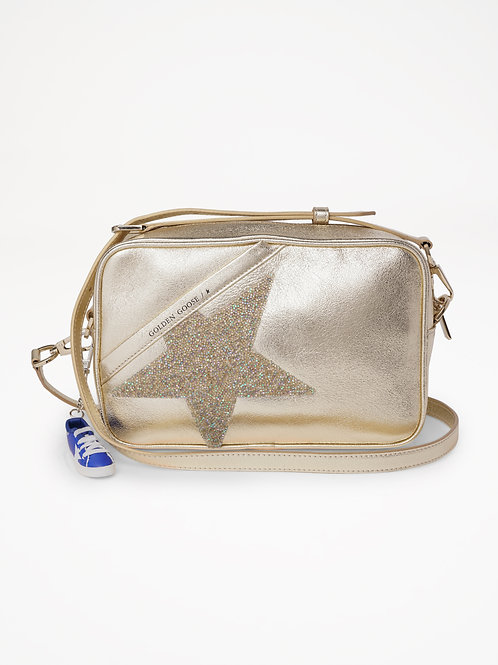 Star Bag Gold Crystal / Golden Goose