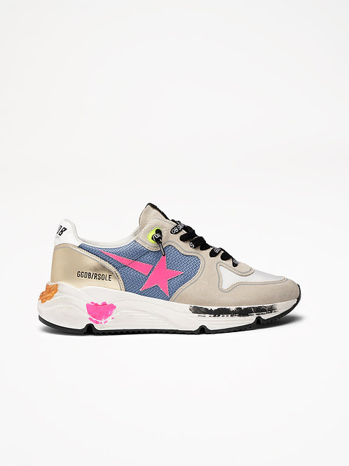 Running Sole Logo Laces / Golden Goose