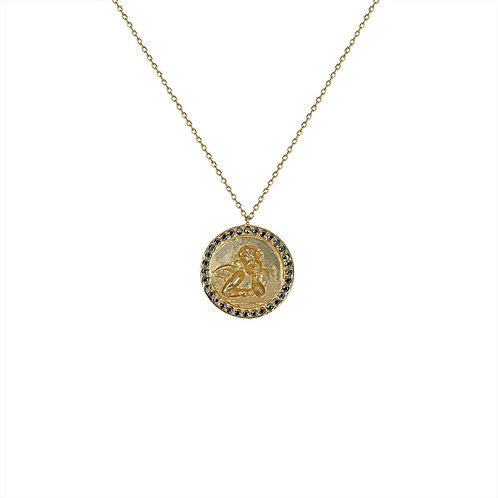 Collier – Ange Raphaël – Médaille ronde