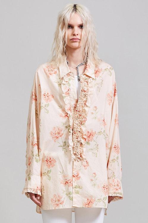 Tuxedo Shirt - Pale Rose / R13