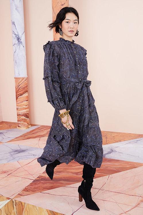 Robe Layla Indigo Diamond  / Ulla Johnson