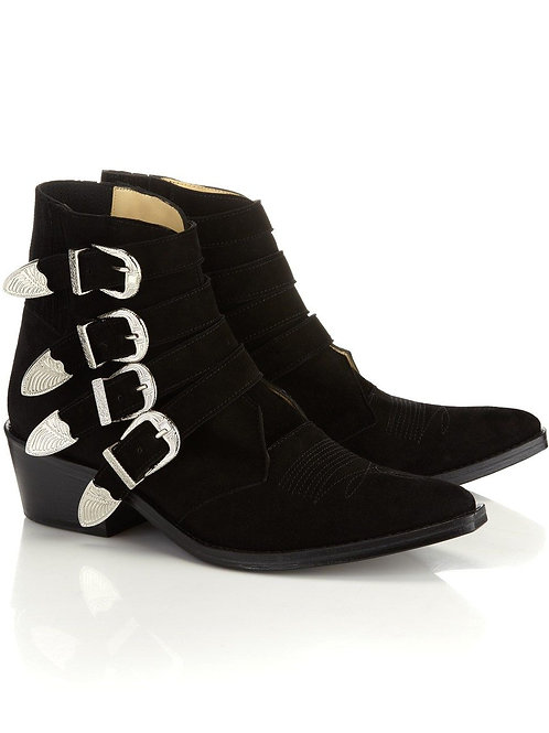 Boots Black Suede / Toga