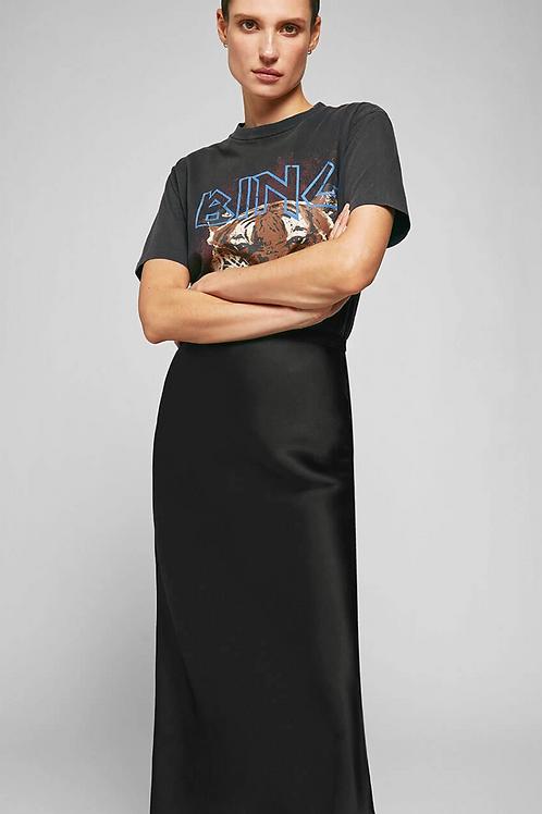 Bar Silk Skirt - Black / Anine Bing