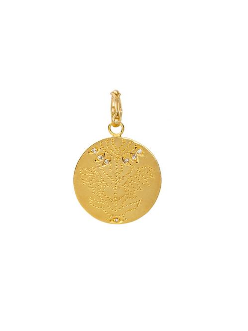 Médaille Fleur du Taj Mahal / Dorothée Sausset