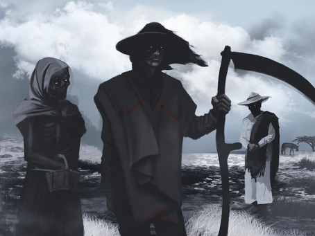 La muerte sobre campo mexicano