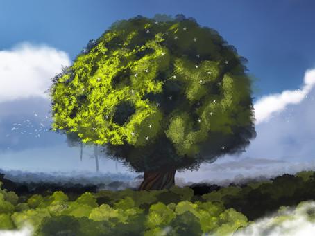 Los árboles en las naciones antiguas.