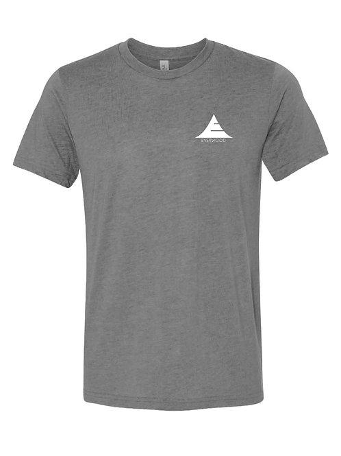 Icon Logo Tri-Blend Shirt - Grey