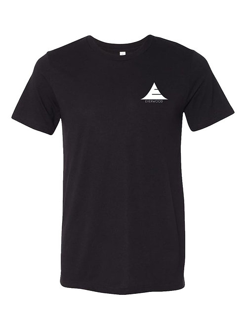 Icon Logo Tri-Blend Shirt - Black