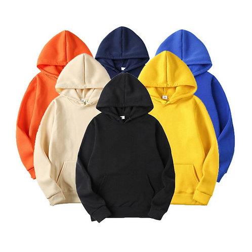 Fashion Brand Men's Hoodies Male Casual Hoodies Sweatshirts Men's Solid Color