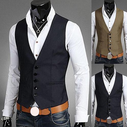 2020 New Arrival Dress Vests for Men Slim Fits Mens Suit