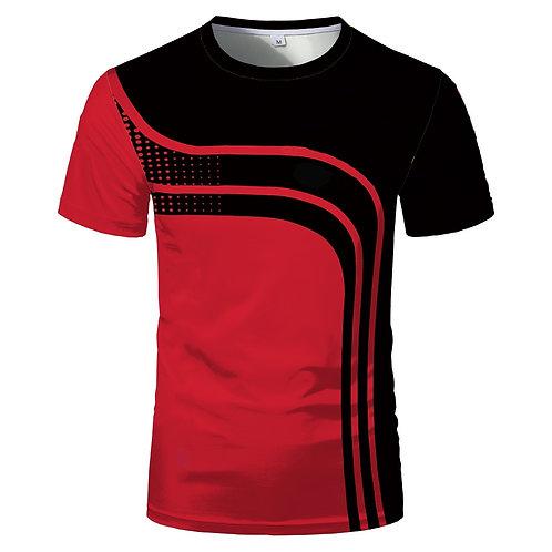 Hot Sale Fashion Short Sleeve Slim Comfortable Men's and Women's Sports T-Shirt