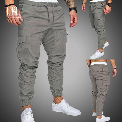 Autumn Men Pants Hip Hop Harem Joggers Pants 2020
