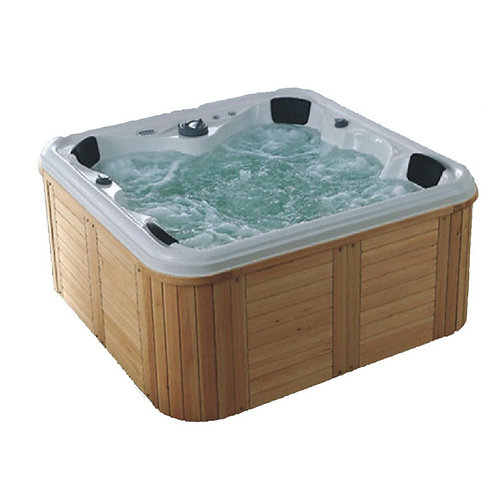 High Quality Outdoor Spa Pool / Pool Hot Tub Combo / Outdoor Whirlpool Spa Pool