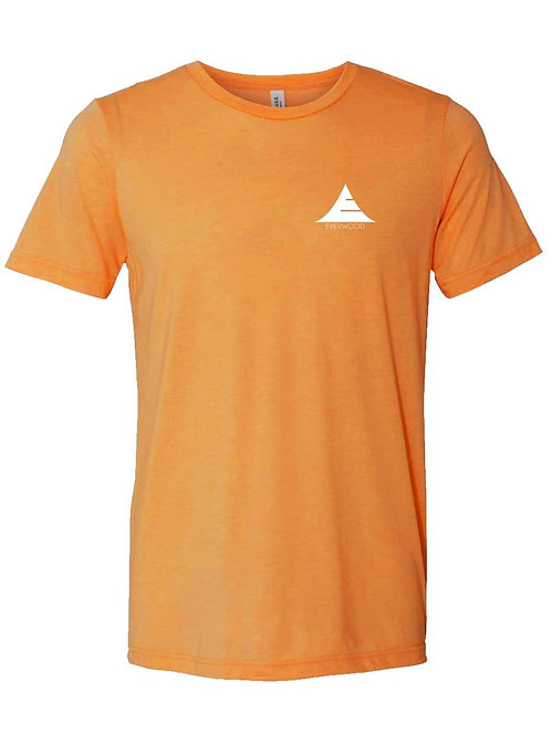 Icon Logo Tri-Blend Shirt - Orange