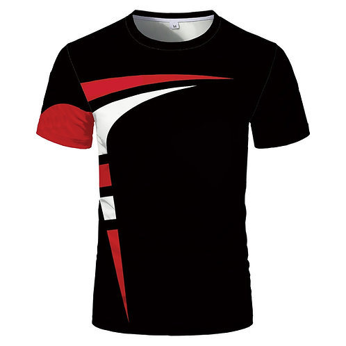 Hot Sale Short-Sleeved Round Neck Men and Women Same Sports T-Shirt