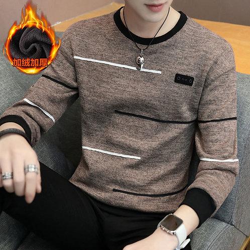 Long Sleeve Sweatshirt Striped