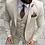 Thumbnail: Men Suits Tuxedo Slim Fit 3 Piece Suits for Men Custom Blazer Terno Masuclino