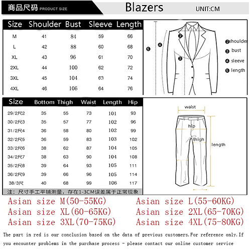 Men Slim Fit Plaid Suit 2pc Set