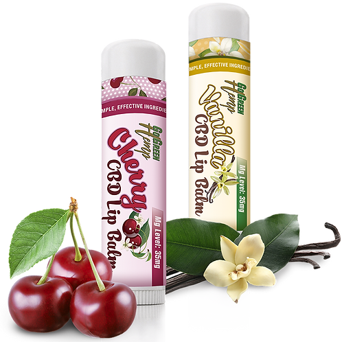 GoGreen Hemp CBD Lip Balm 35mg (Multiple Flavors)