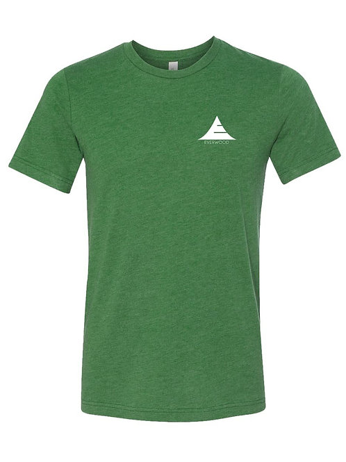 Icon Logo Tri-Blend Shirt - Green