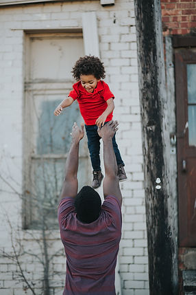 Happy Raintree Father & Son