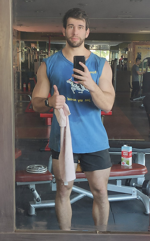 Geoffrey Verity Schofield Fitness trainer