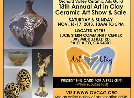 Art in Clay 2013 Sale