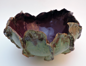 Green & Purple Bowl