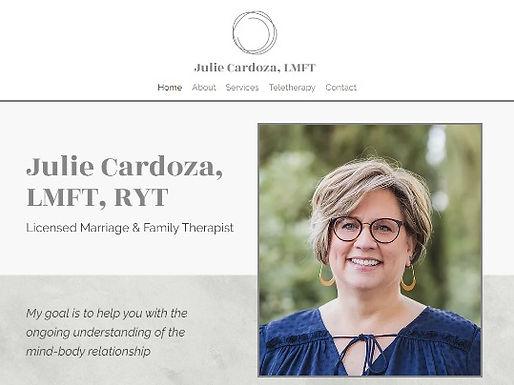 Julie Cardoza MFT