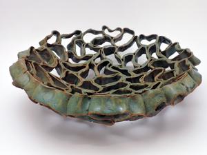 Green Coils Bowl