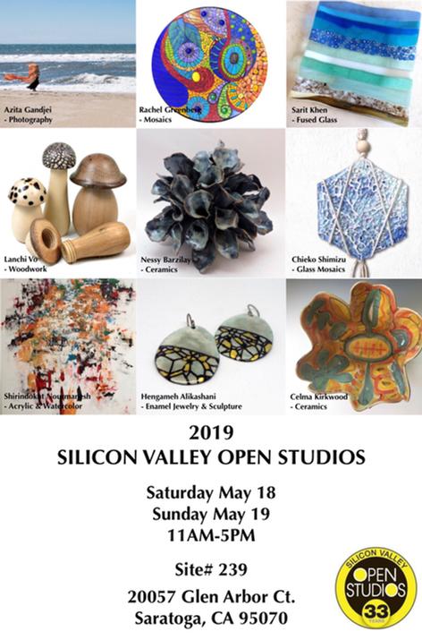 Silicon Valley Open Studios 2019