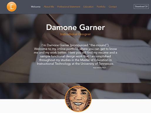 Damone Garner CV