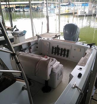 TexomaStriperFishing Boat