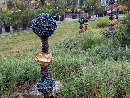 Sculpture IS 2015 at Sierra Azul Nursery