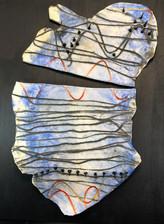 bluu nails wall piece