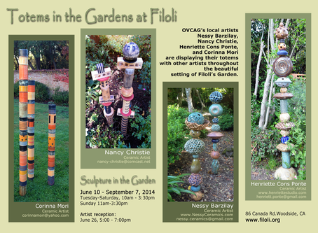 My totems in Filoli for the entire summer :-)