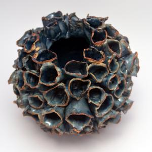 Blue Corl Flower