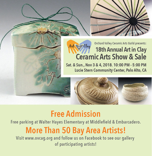 Art In Clay 2018