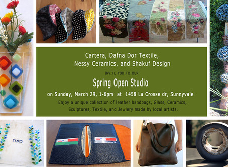 Spring Open Studio at my place