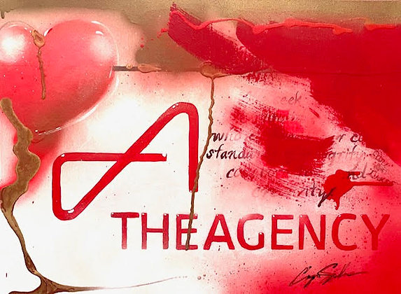 THE AGENCY RED CURTAIN