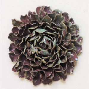 Purple Flower Wall Piece
