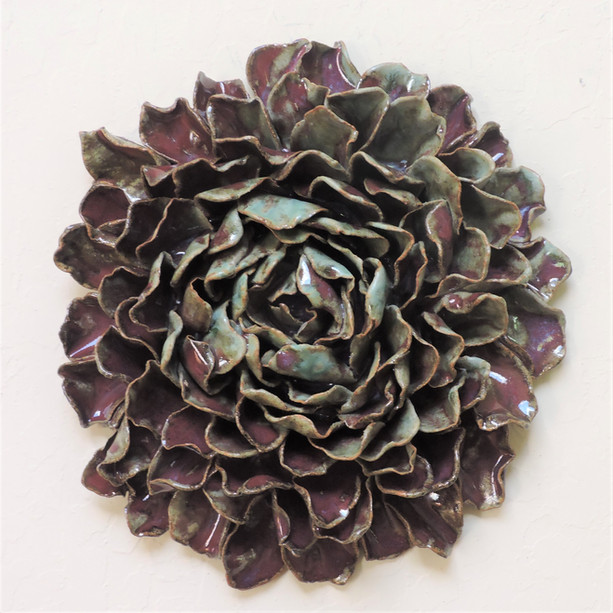 Purple Flower Wall Piece