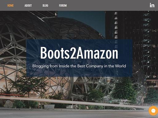 Boots2Amazon