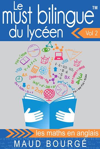 Le must bilingue maths en anglais | bilingual books by Maud Bourgé