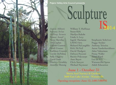 Sculpture Is 2014 exhibit in Sierra Azul garden